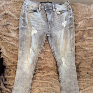 Express size 6 jeans. Like new. Grey